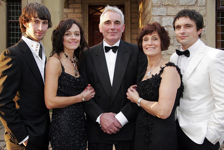 The Wheeldon's - James, Susan John, Glenda and Jonathan